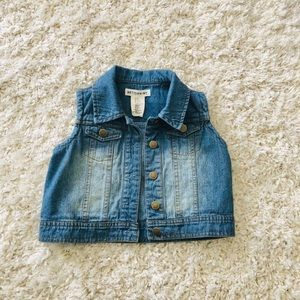 Girls fashion jean vest  ARTISAN *NY - 5T